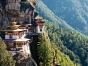 A hillside in Bhutan