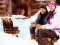 Happy couple in Alaska