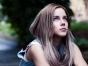 Teenager brooding