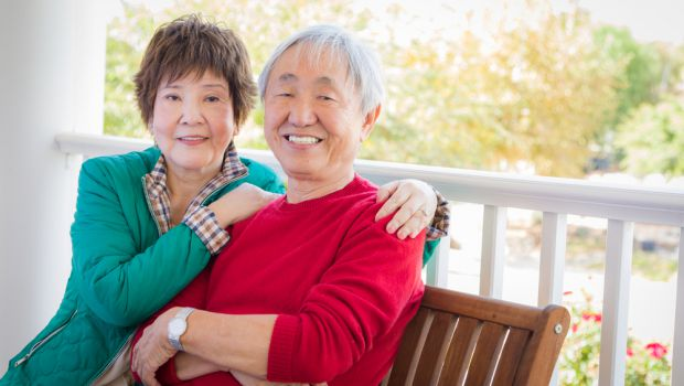 Keeping a positive attitude about aging may help us to be more content.
